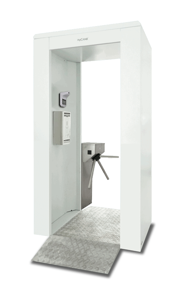 Disinfectant Gate I Automatic Turnstile System