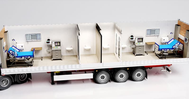 Hycanx Container Health Unit